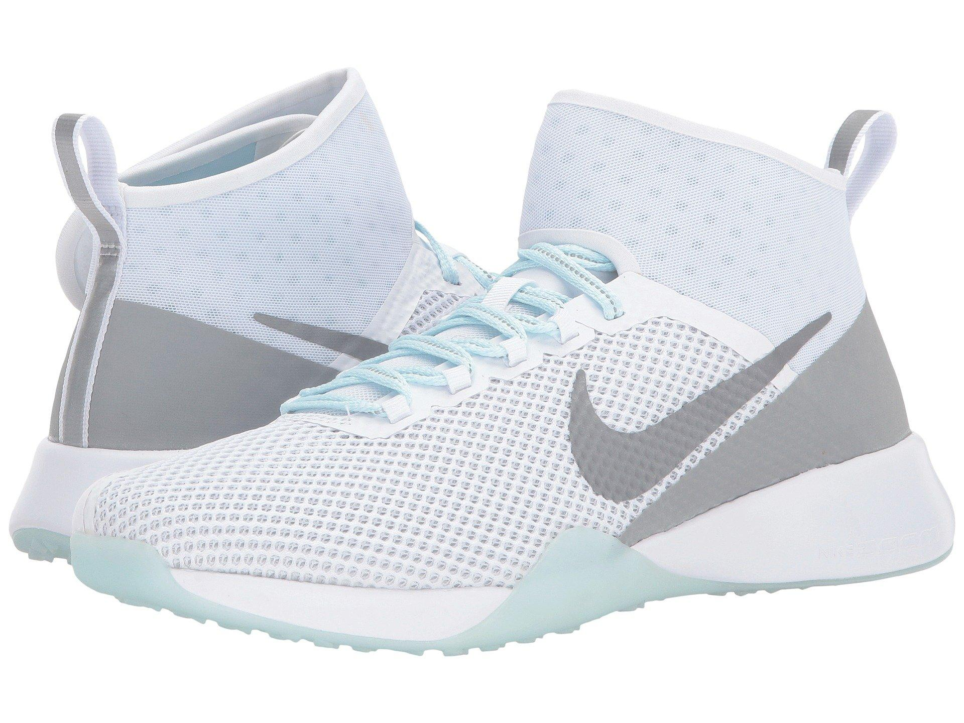 02a8ac484f27 Nike Air Zoom Strong 2 Reflect Training In White Reflect Silver Glacier Blue