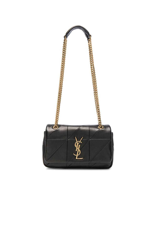 613caa375 Saint Laurent Jamie Medium Diamond-Quilted Chain Shoulder Bag - Bronze  Hardware In Black
