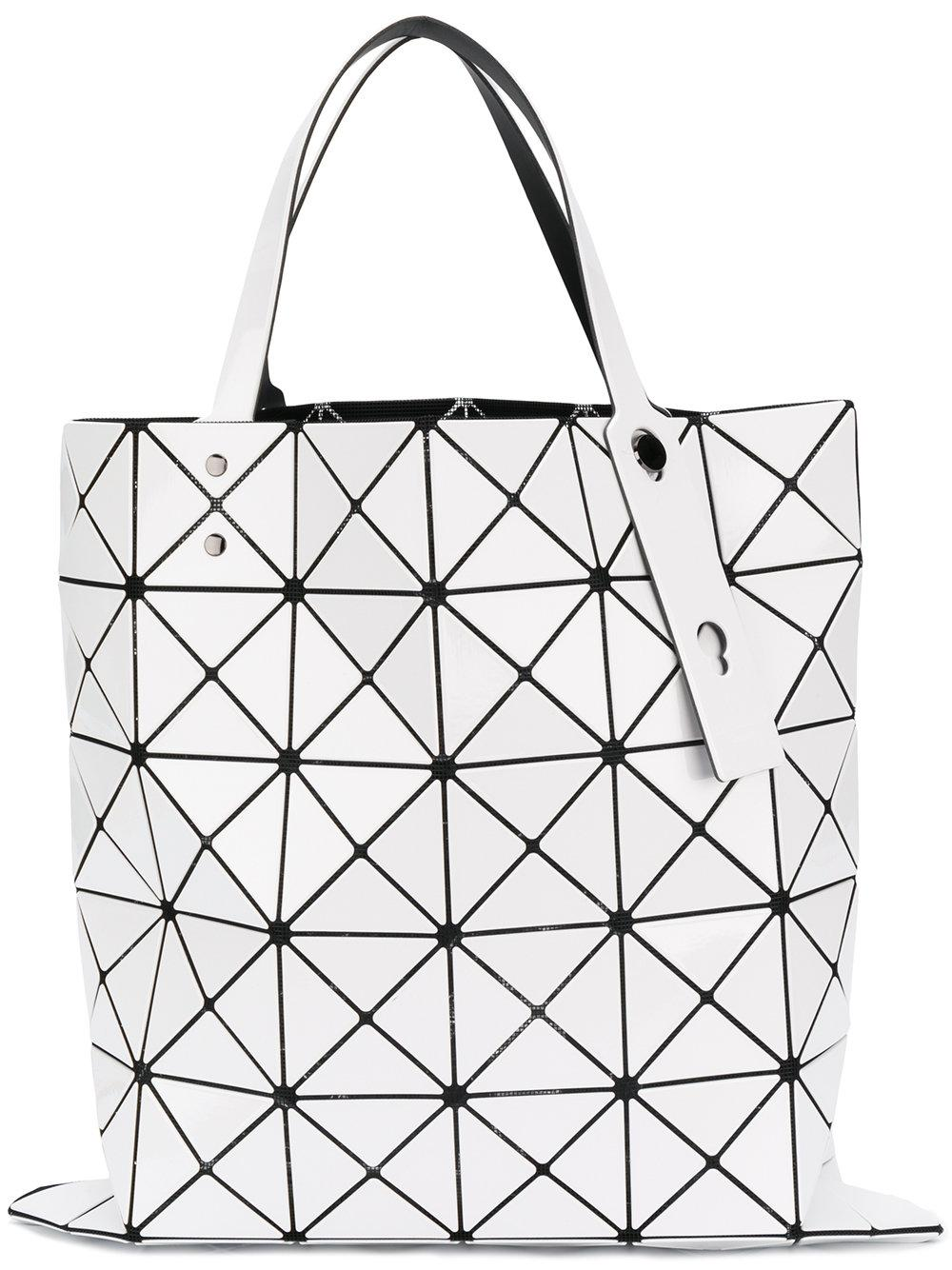 6c0c6cad4edd Bao Bao Issey Miyake Lucent Lightweight Collapsible Tote Bag In White