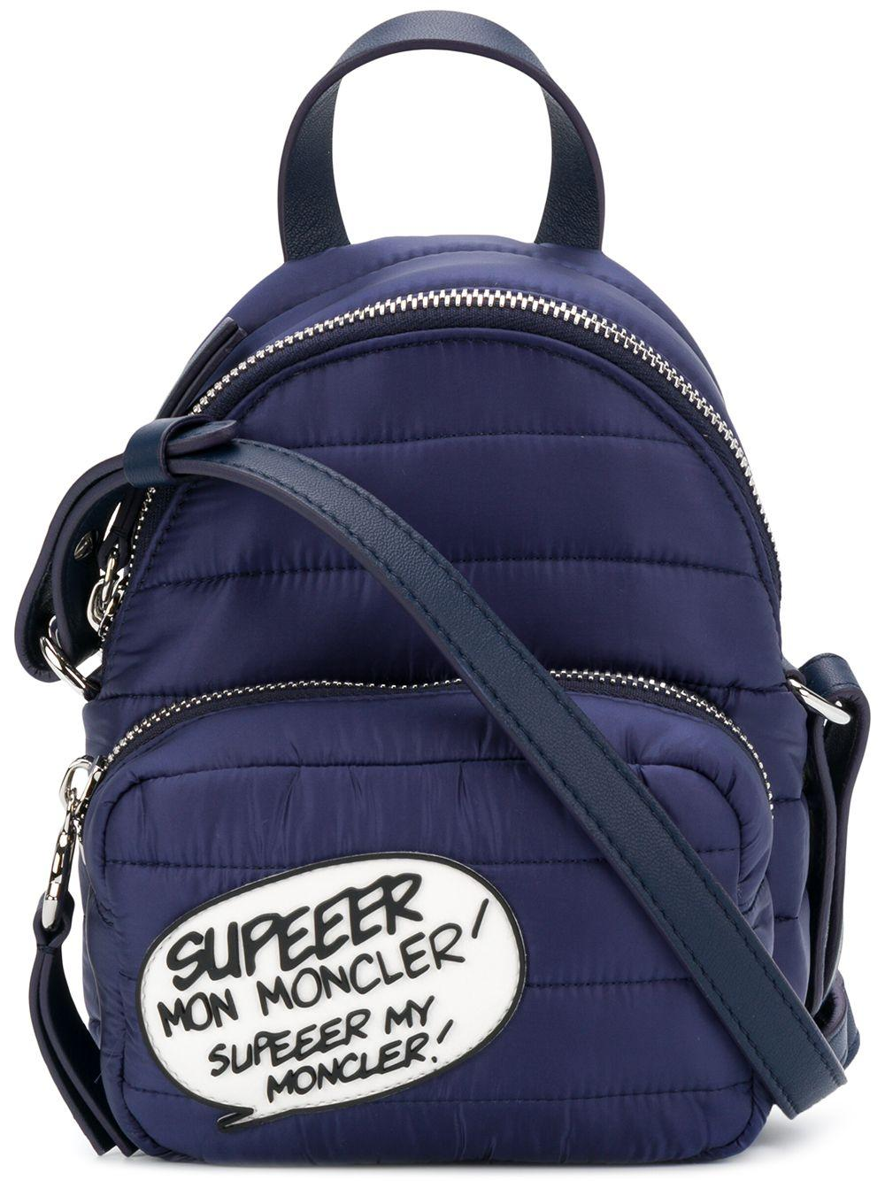 Moncler Kilia Pm Down Backpack In Blue