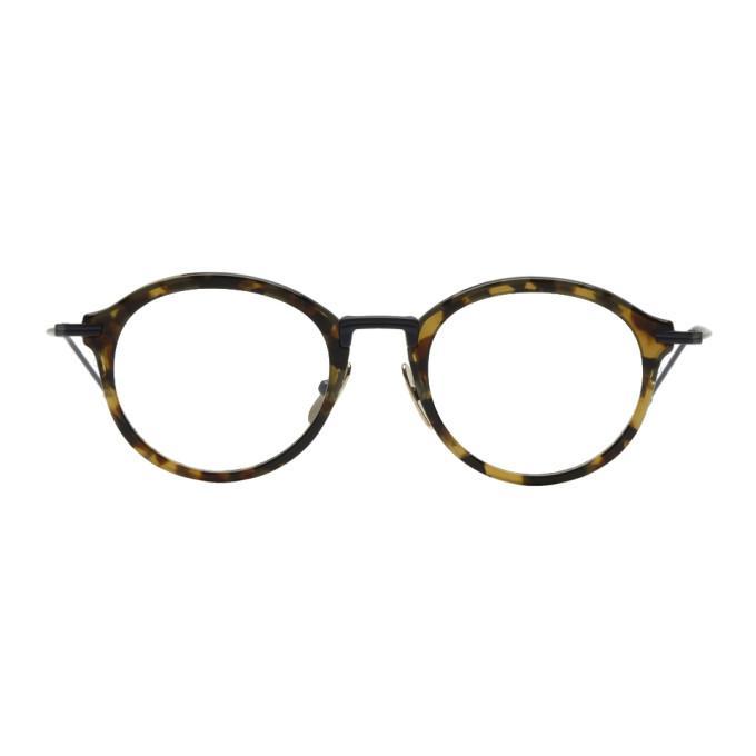 83b0063261e1 Thom Browne Navy   Tortoiseshell Tb-908 Glasses In Matte Navy
