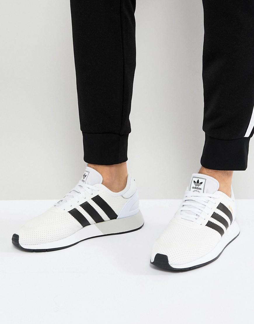 quality design 19a8d 3b7a2 Adidas Originals N-5923 Sneakers In White Ah2159 - Black