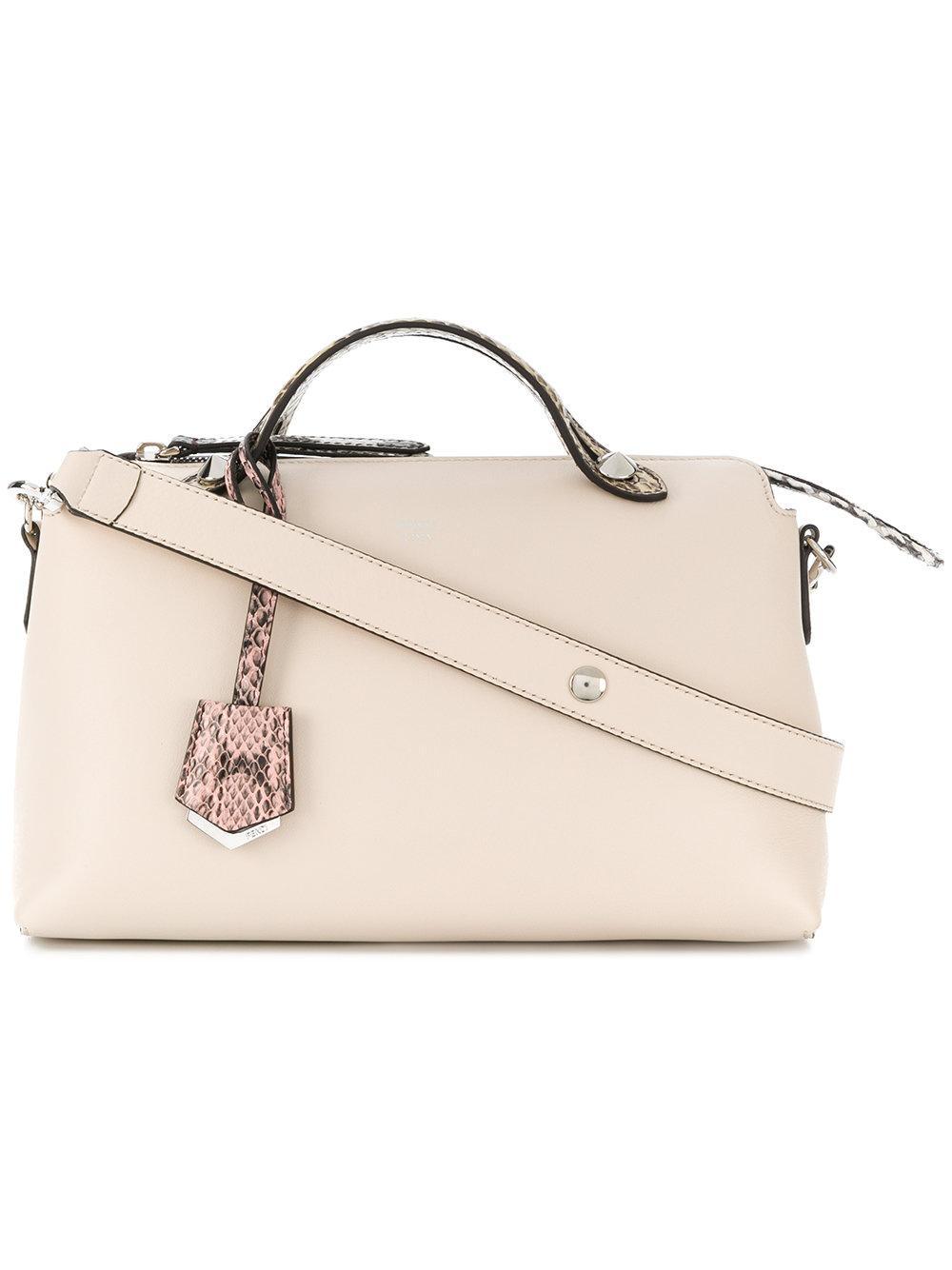 a59ac2dd437 Fendi By The Way Small Shoulder Bag - Cream In Neutrals | ModeSens