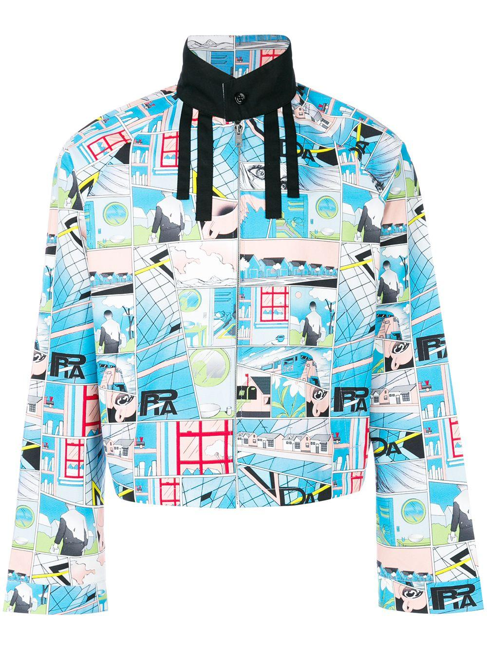 ac52d33c comic printed jacket