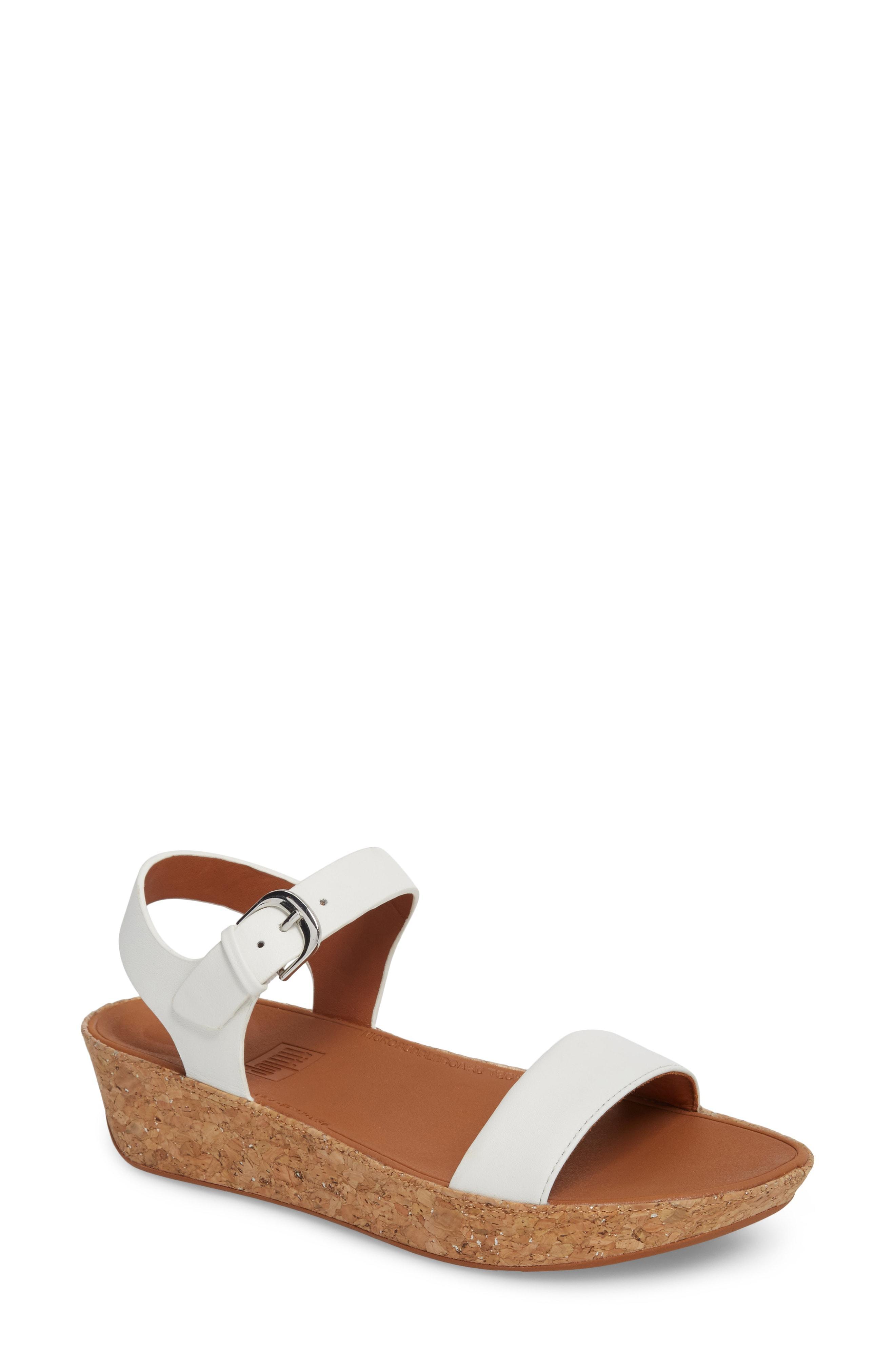 f5b4cc32d Fitflop Bon Ii Platform Sandal In Urban White Leather