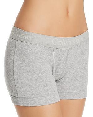 bfe6b9f4ceb Calvin Klein Body Boyshort Panty Qf4511 In Grey Heather