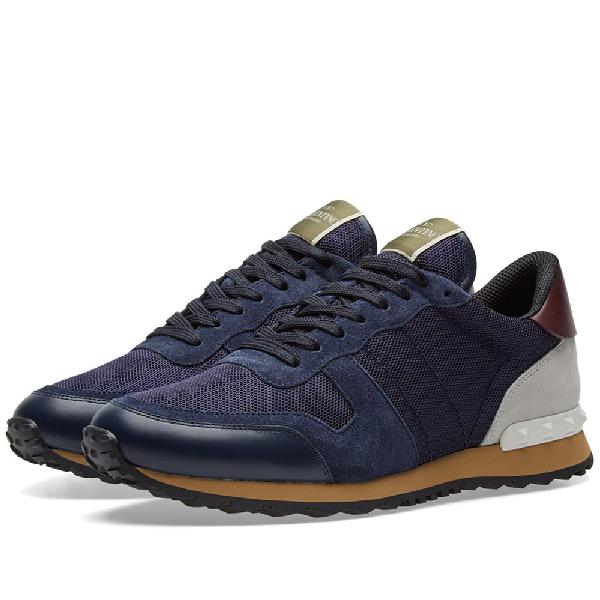 7e0e8ebf6a862 Valentino Rockrunner Sneaker In Blue   ModeSens