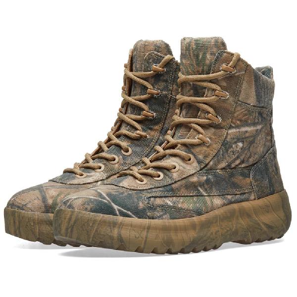 8546014b8 Yeezy Season 5 Military Boots - Green