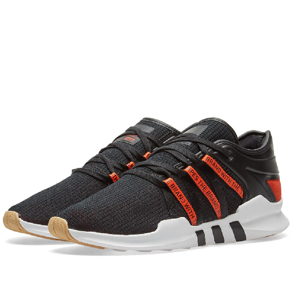 a733db9a98d5 Adidas Originals Eqt Racing Adv Sneakers In Black - Black