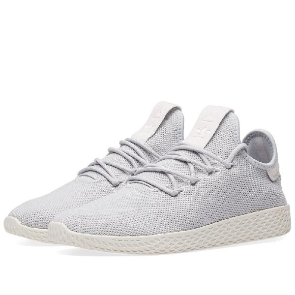 new concept 6386a cd2a1 Adidas Originals Women s Originals Pharrell Williams Tennis Hu Casual Shoes,  Grey In Light Gray