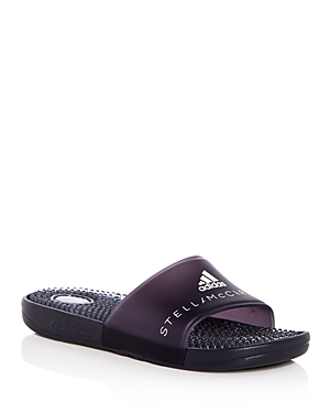0b3e91d0c5a2 Adidas By Stella Mccartney Adissage Slide Sandal With Massaging Footbed In  Grey