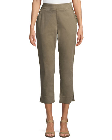 95922c77e Kate Spade Slim-Straight Chino Pants In Olive | ModeSens