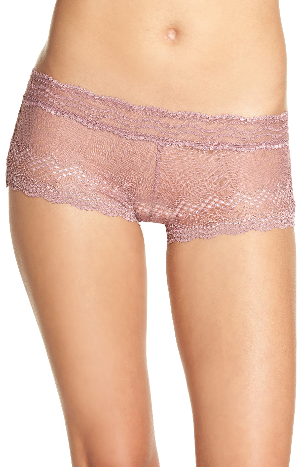 Vince Camuto Colette Boyshorts In Plum