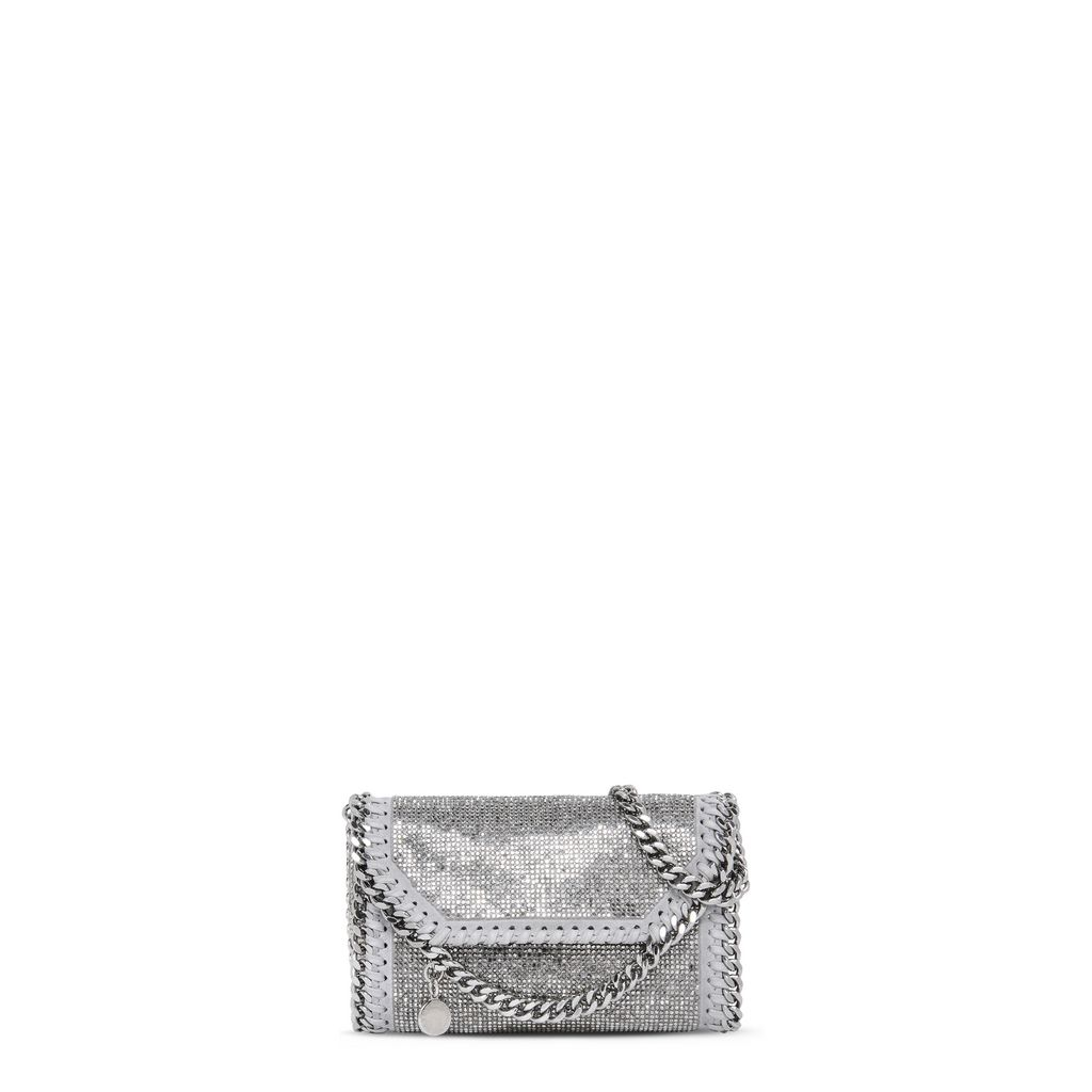 Stella Mccartney Mini Bags In Ruthenium