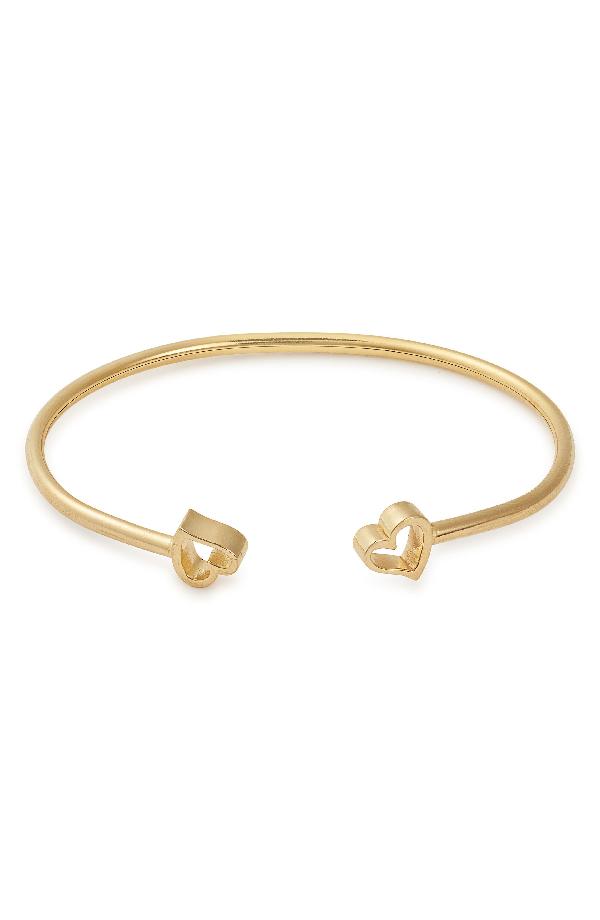 5fb8a7daa50bed Alex And Ani Heart Kick Cuff Bracelet, Gold Vermeil | ModeSens