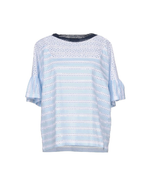 Anneclaire T-Shirt In Sky Blue