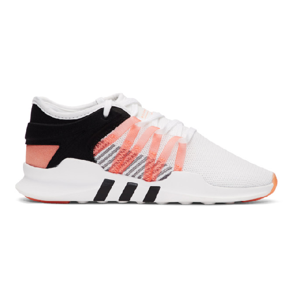 d6862ff80b27 Adidas Originals Women s Eqt Racing Advantage Lace Up Sneakers In White