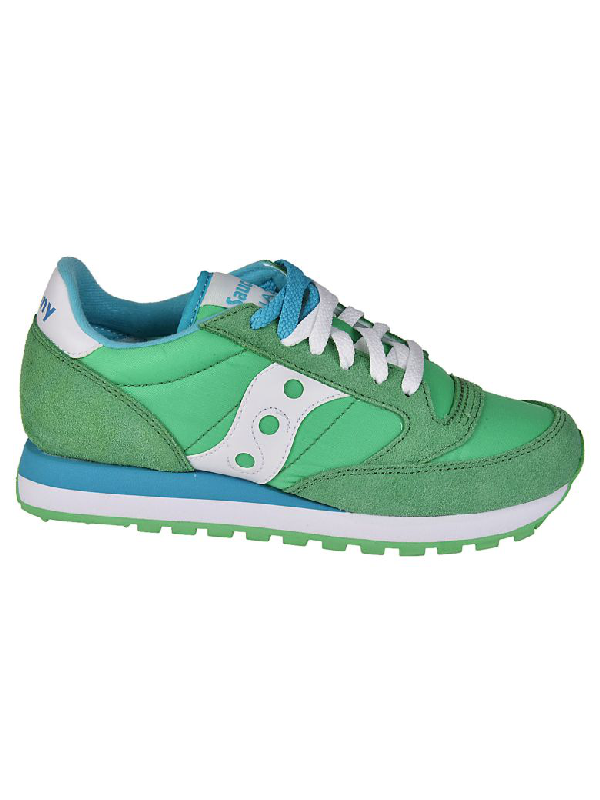 ff5118123d98 Saucony Women s Shoes Suede Trainers Sneakers Jazz Original In Green ...