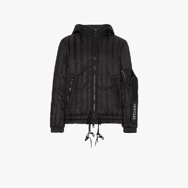 844347bc2 MONCLER MONCLER X CRAIG GREEN QUILTED LOGO FEATHER DOWN JACKET