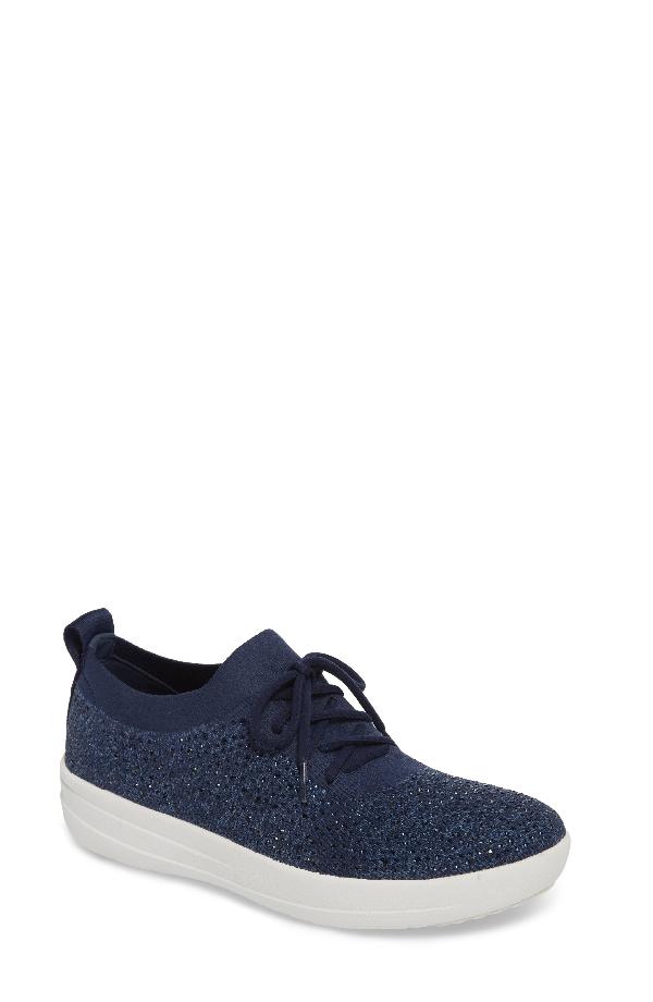 Fitflop Uberknit(tm) F-sporty Sneaker In Midnight Navy