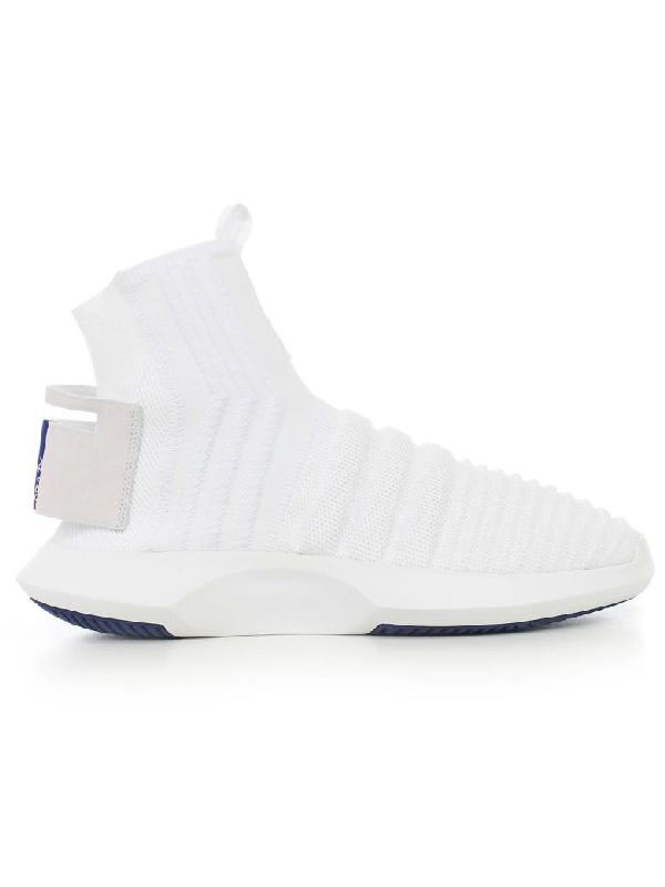 newest ffec2 abb27 Adidas Originals Crazy 1 Adv Sock Primeknit Sneakers - White