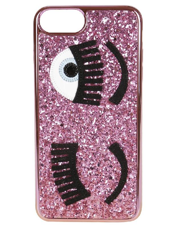 Chiara Ferragni Chiara's Palace Iphone 8 Cover In Celeste  ModeSens