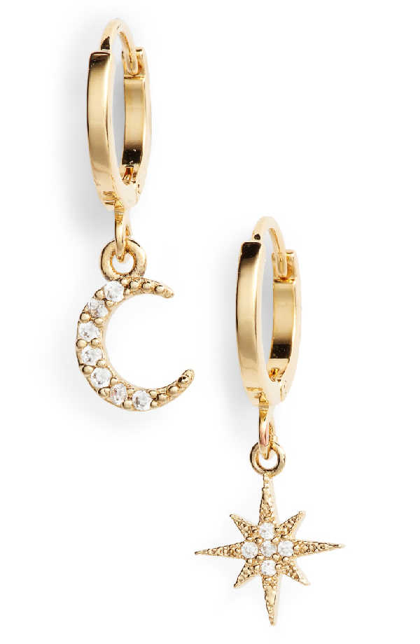 0b0d1aac3 Five And Two Chloe Celestial Hoops In Gold | ModeSens