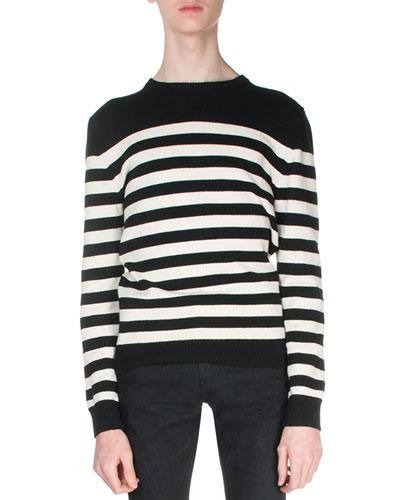 d3358d9c6588 Striped Cashmere Sweater