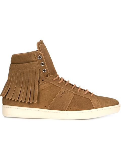 Saint Laurent 'court Classic' Sneakers - Brown