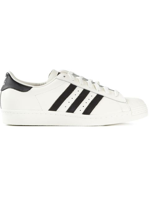 Adidas Originals Adidas Men's Superstar Casual Sneakers From Finish Line In White ,black