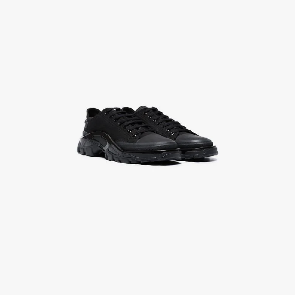 9e2e96e73300 Adidas By Raf Simons Adidas X Raf Simons Men s Detroit Runner Canvas   Nylon  Sneakers In