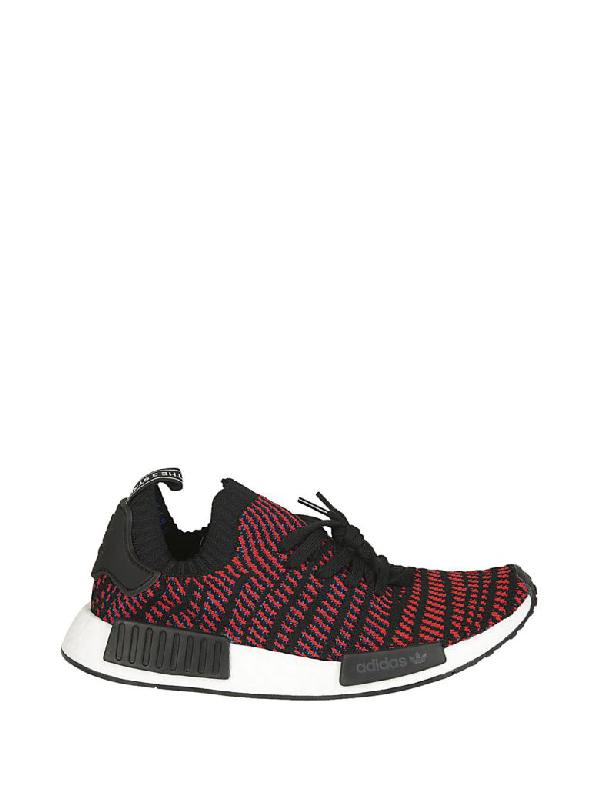 4bca2001d Adidas Originals Nmd R1 Stlt Primeknit Sneakers In Black Cq2385 - Black