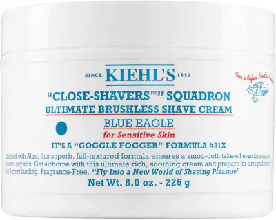 Kiehl's Since 1851 1851 Close-Shavers Squadron Ultimate Brushless Shave Cream - Blue Eagle, 8-Oz. In Undefined
