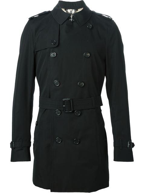 Burberry The Heritage Kensington Black Trench Coat