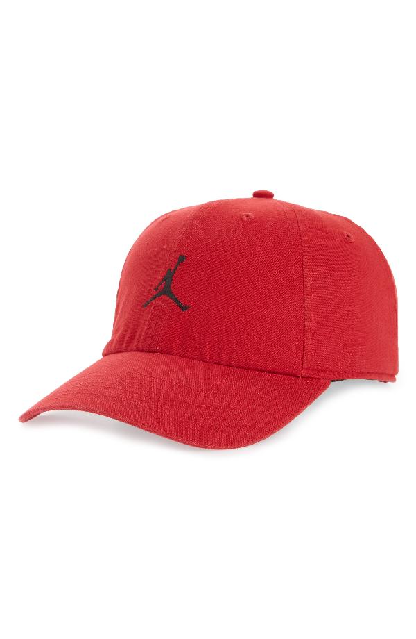 93509c2ce60a9 Nike Jordan H86 Jumpman Washed Baseball Cap - Red In Gym Red  Black ...