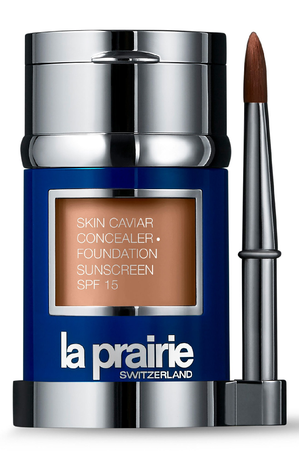 La Prairie Skin Caviar Concealer + Foundation Sunscreen Spf 15 In Pure Ivory