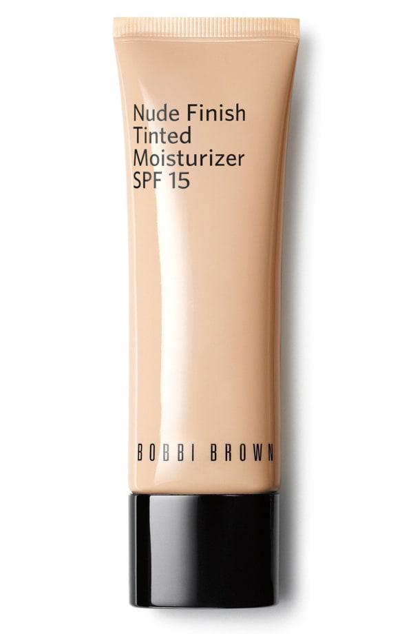 Bobbi Brown Nude Finish Tinted Moisturizer Spf 15 In Deep Tint