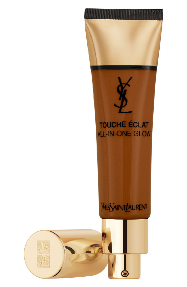Saint Laurent Touche Eclat All-in-one Glow Tinted Moisturizer Spf 23 In B90 Ebony
