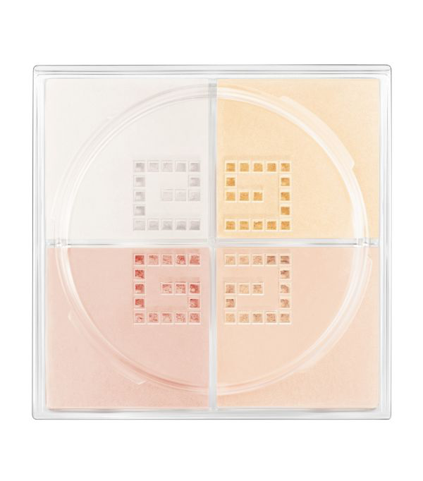 Givenchy Prisme Libre Matte-finish & Enhanced Radiance Loose Powder, 4 In 1 Harmony In White