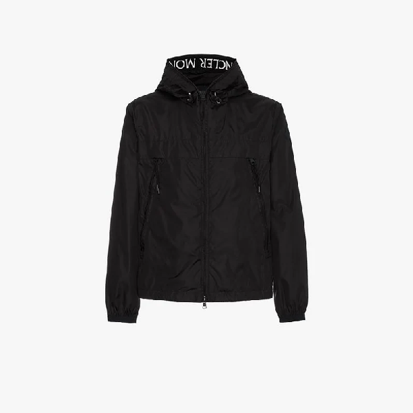 a6c22b8a9 MONCLER MASSEREAU LOGO HOODED JACKET