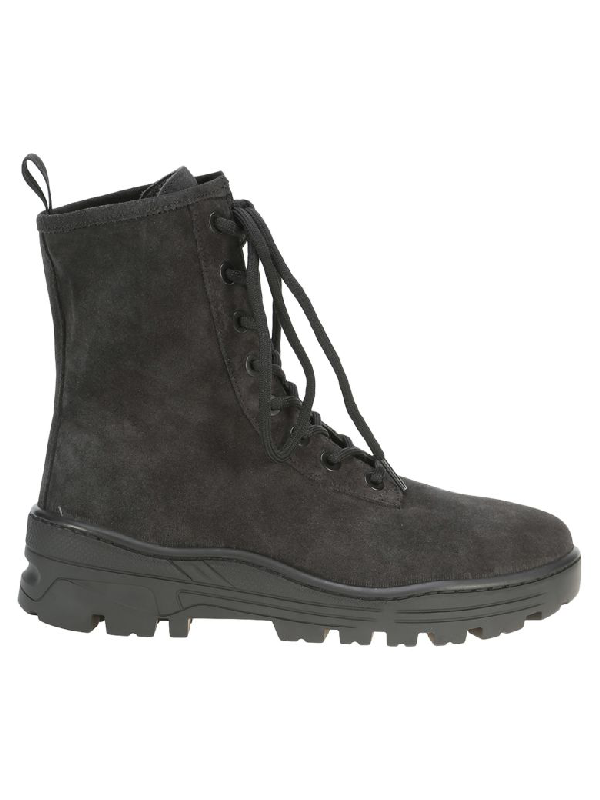 ed61689559b5e Yeezy Season 5 Combat Lace-Up Boots In Black