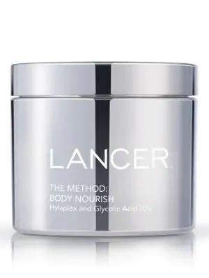 Lancer The Method: Body Nourish Cream With Hylaplex And 10% Glycolic Acid