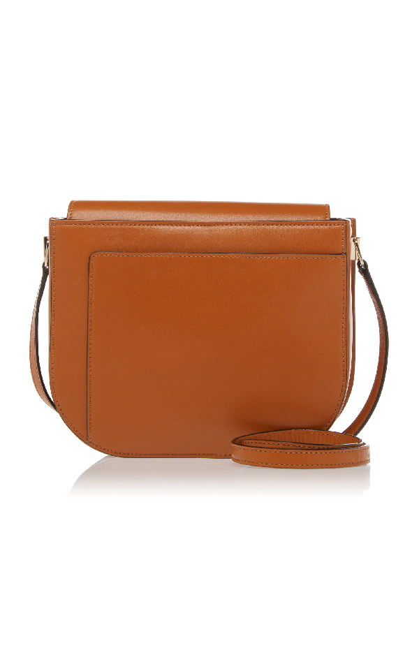 b7303eee58 Valextra Twist Crossbody Bag In Brown | ModeSens