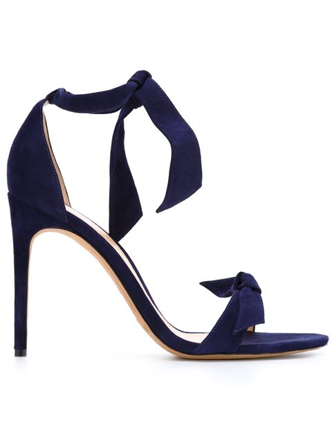 Alexandre Birman Clarita Suede Ankle-tie Sandals In Purple