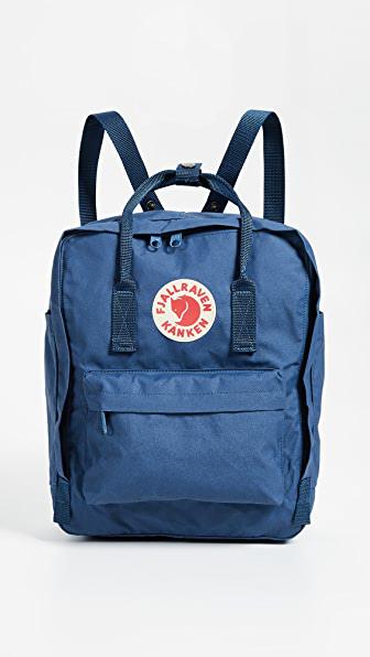 Fjall Raven Kånken Logo Badge Backpack In Royal Blue