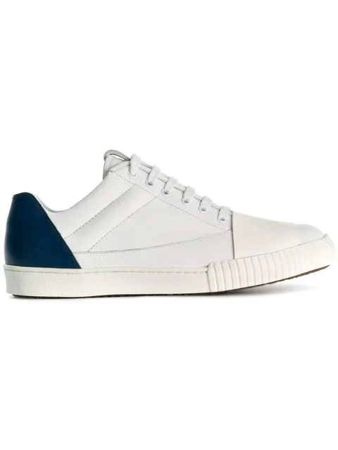 Marni Paneled Sneakers In White