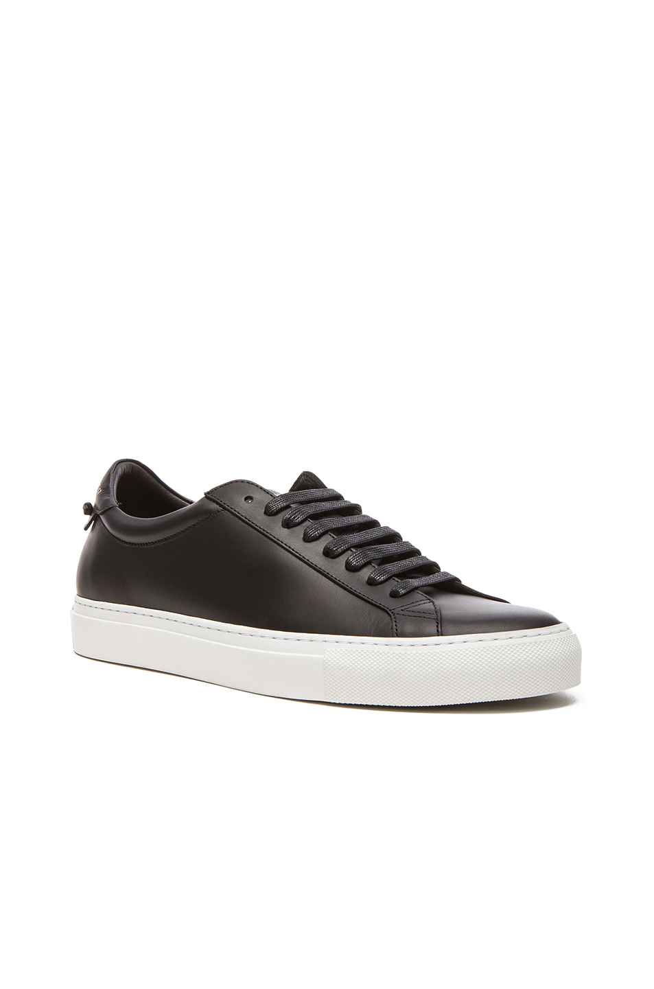 Givenchy Low-top Sneakers Urban Street Calfskin Logo Black In 001 Black