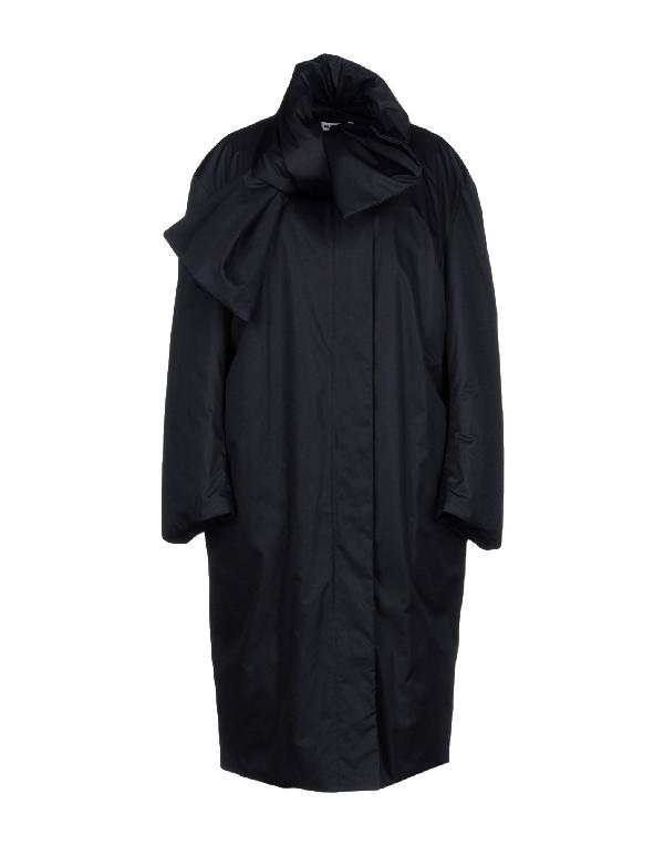 Jil Sander Down Jackets In Dark Blue
