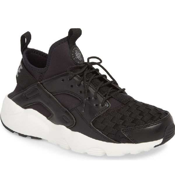 668126164ad6 Nike Men s Air Huarache Run Ultra Se Casual Sneakers From Finish Line In  Black