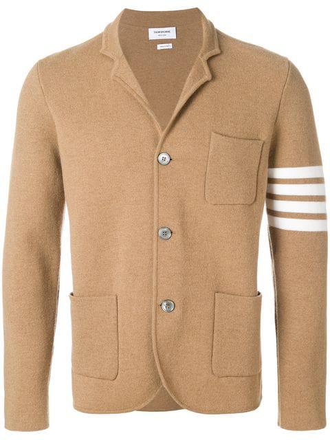 Thom Browne 4-bar Camel Hair Sport Coat In Neutrals